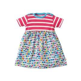 Frugi Little Girl Boat Neck Body Dress by Frugi