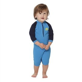NoZone One-Piece UPF 50 Baby Sun Protection Swim Suit by NoZone