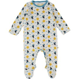 Frugi Organic Cotton Footed Babygrow