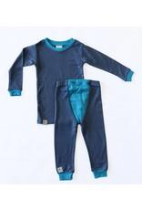 Wee Woollies Merino Wool 2-Piece PJ Set by Wee Woollies