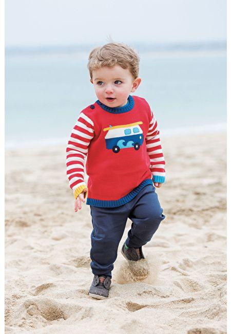 Frugi Frugi Boys Jack Knitted Jumper