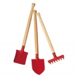Gluckskafer Wood and Metal Sand & Garden Tools