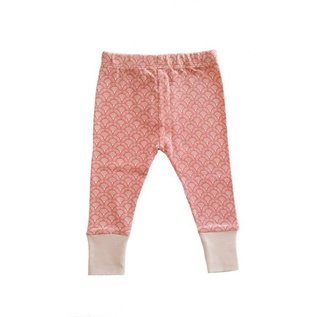 Parade Organic Cotton Print Leggings with Cuff by Parade Baby