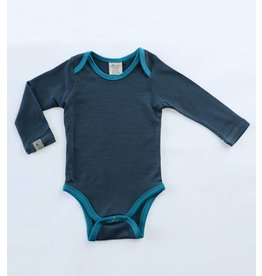 Wee Woollies Merino Wool Long Sleeve Body Suit by Wee Woollies