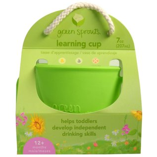 Green Sprouts Green Silicone Learning Cup