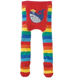 Frugi Organic Cotton Crawl Away Tights by Frugi