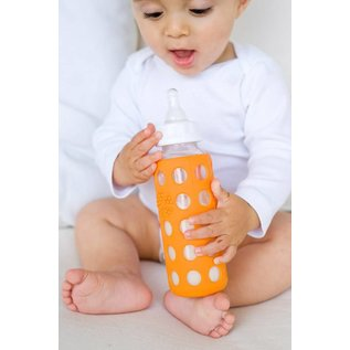 Lifefactory Glass Baby Bottle With Protective Silicone