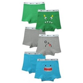 Zoocchini Organic Cotton Boys Boxer Briefs Underwear 3-Pack by Zoocchini
