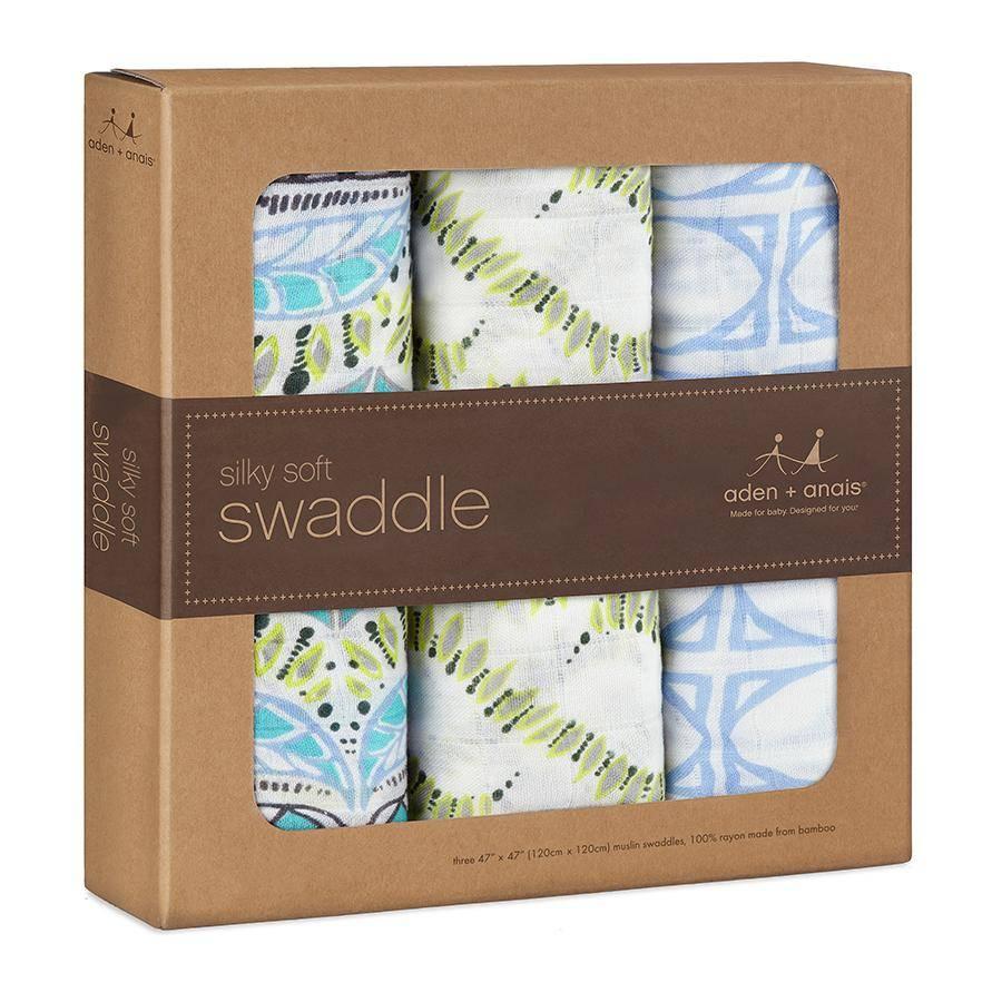aden + anais Silky Soft Bamboo Swaddle Blankets by aden + anais