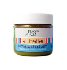 All Things Jill All Better Aromatic Chest Rub by Peas in a Pod 50g