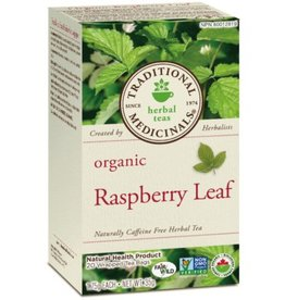 Herbal Raspberry Leaf Teas by Traditional Medicinals