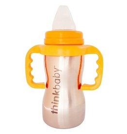ThinkBaby Stainless Steel Sippy Cup with Handles by ThinkBaby