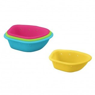 Green Sprouts Floating Nesting Boats 4-Pack by Green Sprouts