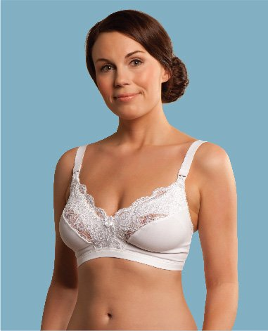 Carriwell Lace Drop Cup Nursing Bra by Carriwell