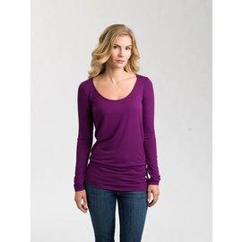 Au Fait Mama The Nourish Long Sleeve Shirt for Pregnancy + Nursing by Au Fait Mama
