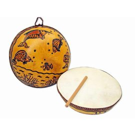 Jamtown Gourd Ocean Drum (Fair Trade)