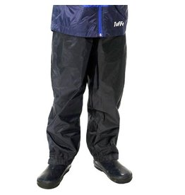 Tuffo Lightweight Black Rain Pants by Tuffo