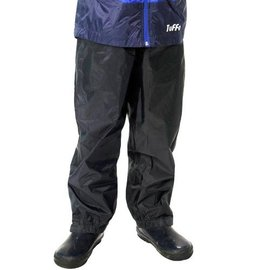 Tuffo Lightweight Black Rain Pants by Tuffo