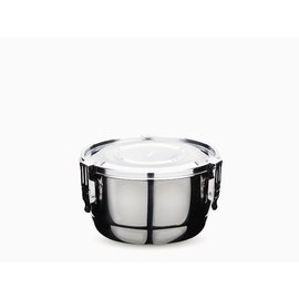 Onyx 10cm Stainless Steel Airtight Container