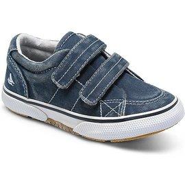 Sperry Halyard Hook and Loop Navy Blue Sneaker by Sperry Kids