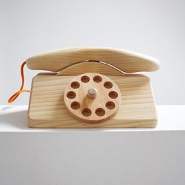 Grimms Wooden Telephone by Grimms