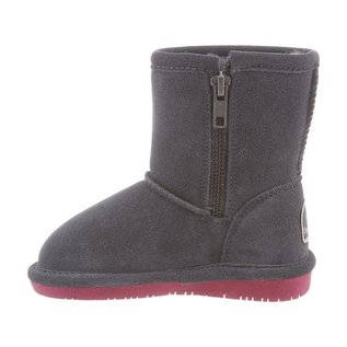 Classic Sheepskin Lined Boots, Emma Style with Easy Side Zipper