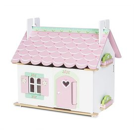 le toy Lily's Cottage w/ Furniture by Le Toy Van