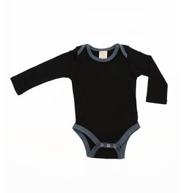 Wee Woollies Merino Wool Long Sleeve Body Suit by Wee Woollies (FW 2017)