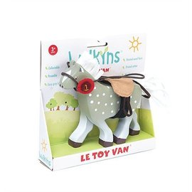 le toy Grey Horse with Saddle by Le Toy Van