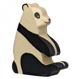 Holztiger Wooden Panda Bear Figure by Holztiger