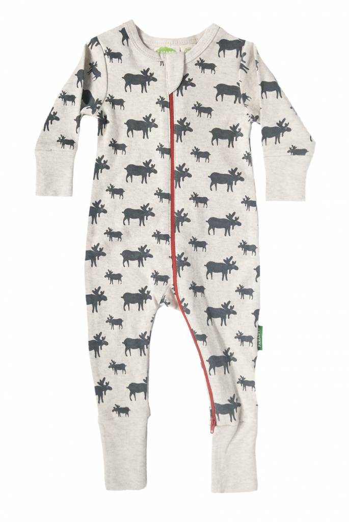 Parade Long Sleeve Organic Cotton Rompers by Parade