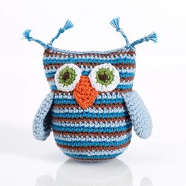 Pebble Crochet Soft Stuffed Animals with Rattle by Pebble (Small)