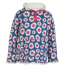 Frugi Big Kids Snuggle Fleece Organic Cotton Sweater by Frugi