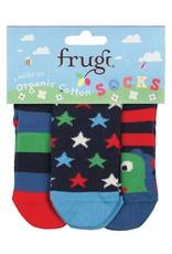Frugi Little Socks 3-Pack Organic Cotton by Frugi