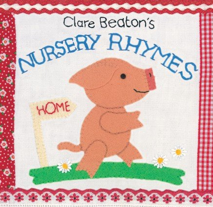 Barefoot Books Rhyme Series Board Books by Clare Beaton ~
