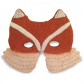 Papoose Wool Felt Dress Up Mask by Papoose