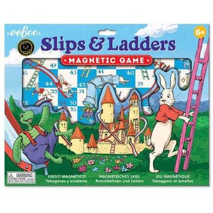 Eeboo Slips and Ladders Magnetic Game