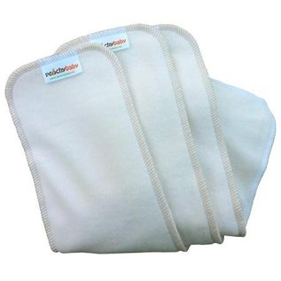 Peachy Baby Peachy Baby Cloth Diaper Inserts Bamboo/Organic Cotton Blend