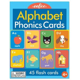 Eeboo Alphabet & Phonics Cards