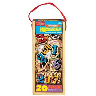 TS Shure MagnaFun 20-Piece Wooden Magnet Play Sets by TS Shure
