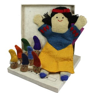 Papoose Wool Felt Story Puppets by Papoose