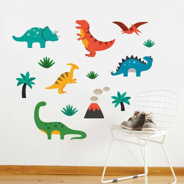 petit collage large fabric wall decal setpetit collage - abby
