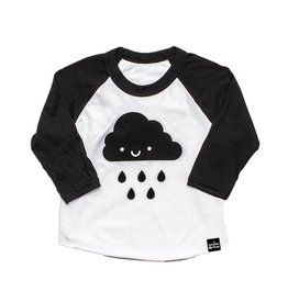 Whistle & Flute Kawaii Cloud Baseball Raglan Shirt by Whistle & Flute