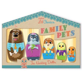Schylling Tin Nesting Dolls