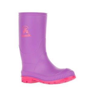 Kamik Purple Stomp Style Rubber Rain Boots by Kamik