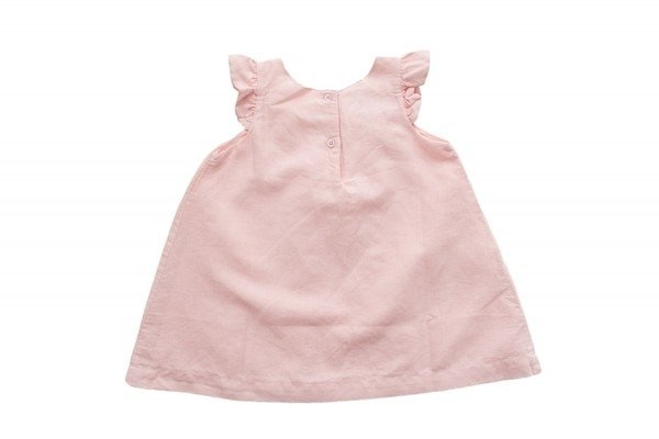Beba Bean Box Pleat Linen Dress by Beba Bean