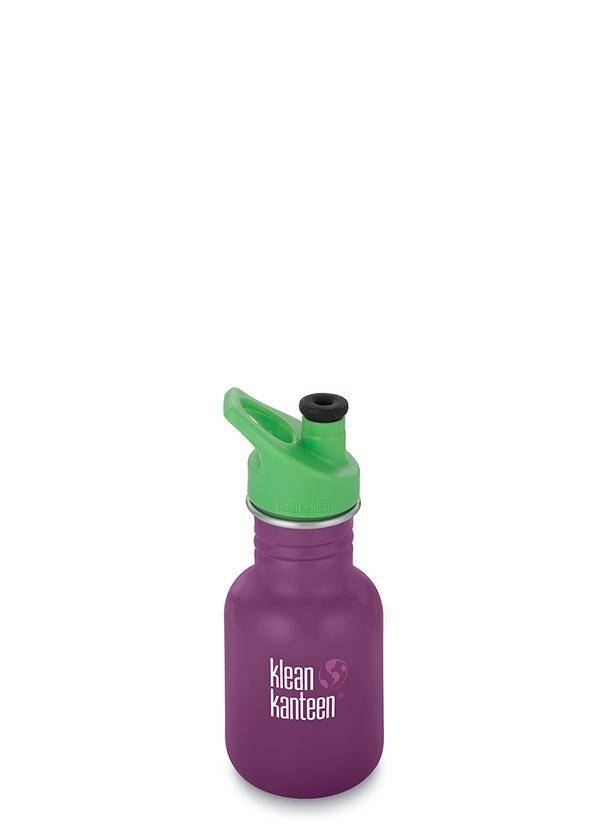 Klean Kanteen Stainless Steel Sport Bottle 12oz by Klean Kanteen