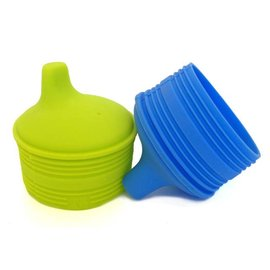 Silikids Silicone Sippy Spout Attachment 2-Pack (Transforms Most Cups into a Sippy!)