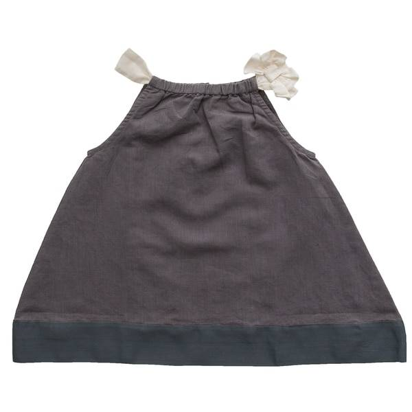Beba Bean Bow Linen Dress by Beba Bean
