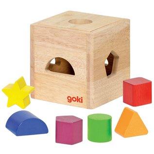 Goki Wooden Shape Sorter by Goki